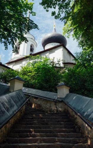 Пушкиногорский монастырь (3) Дом Ветеранов