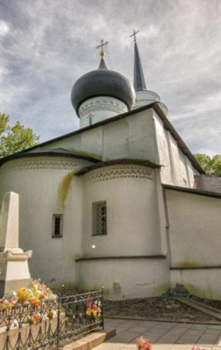 Пушкиногорский монастырь (4) Дом Ветеранов
