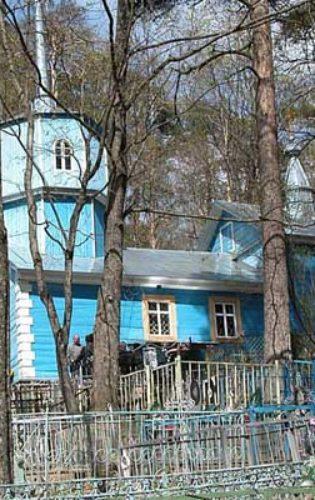 Казанская церковь Пушкинские Горы 2